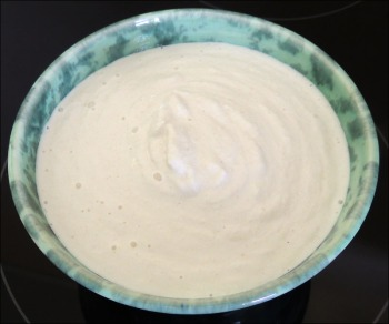 Vanilla Macadamia Cream - the finished product